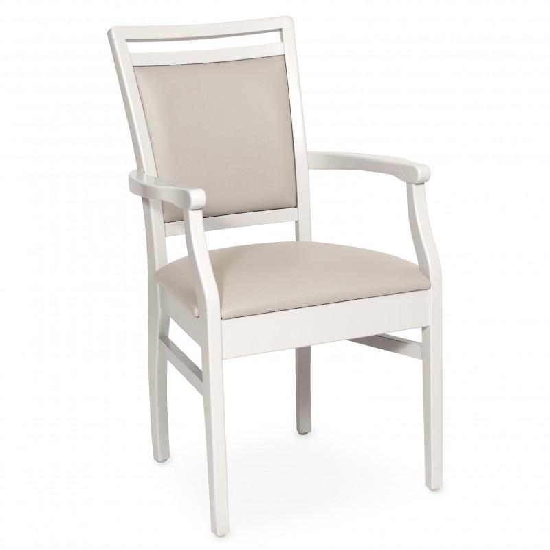 Chaise Avec Accoudoirs Premium