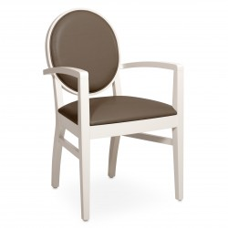 Chaise avec accoudoirs...